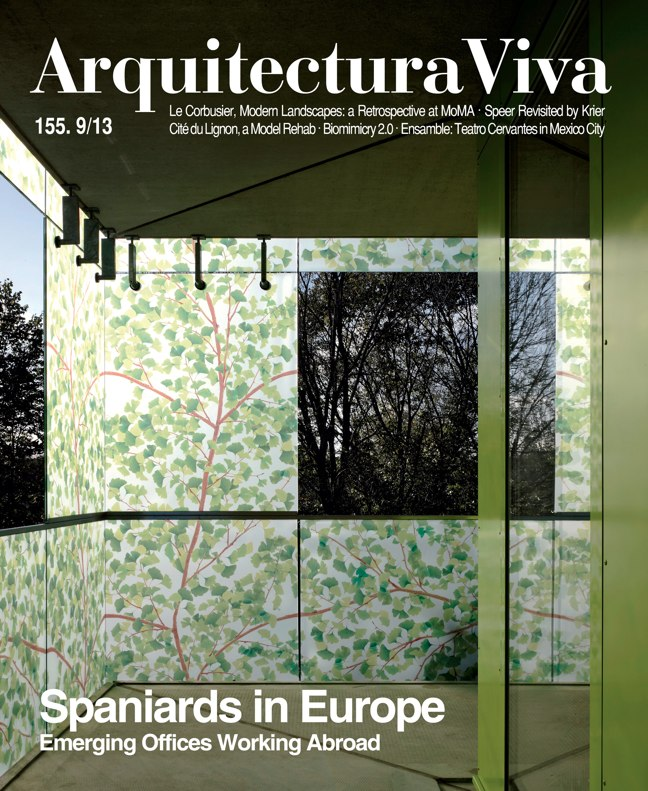 Arquitectura Viva 155 09/13 SPANIARDS IN EUROPE