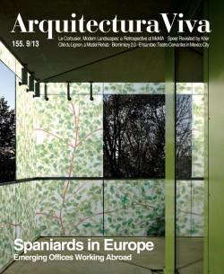 Arquitectura Viva 155 09/13 SPANIARDS IN EUROPE