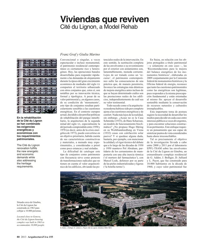 Arquitectura Viva 155 09/13 SPANIARDS IN EUROPE - Preview 25
