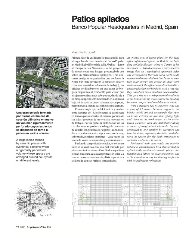 Arquitectura Viva 156. 10/13 Industry Builds - Preview 20
