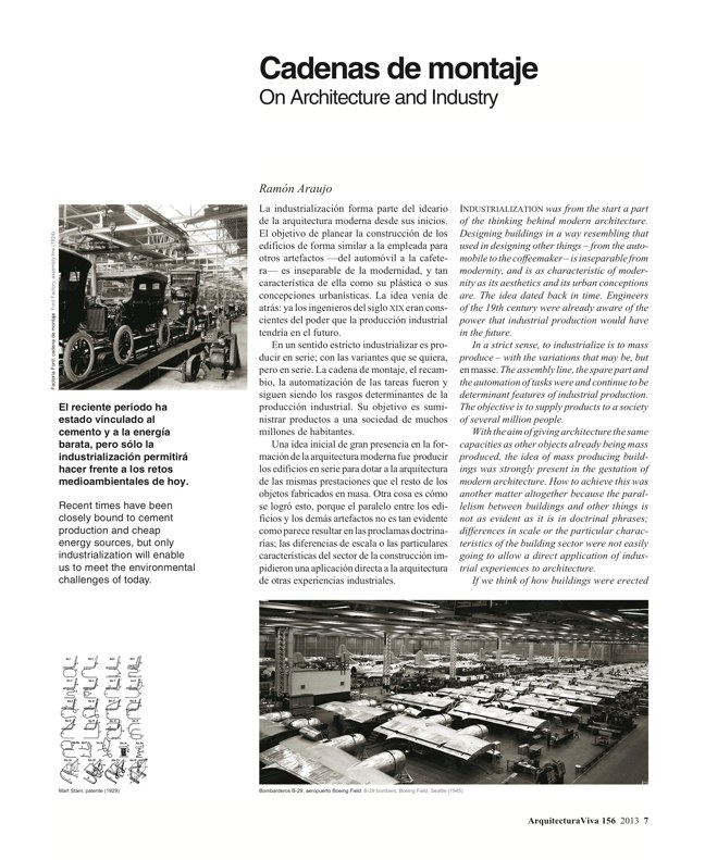 Arquitectura Viva 156. 10/13 Industry Builds - Preview 4