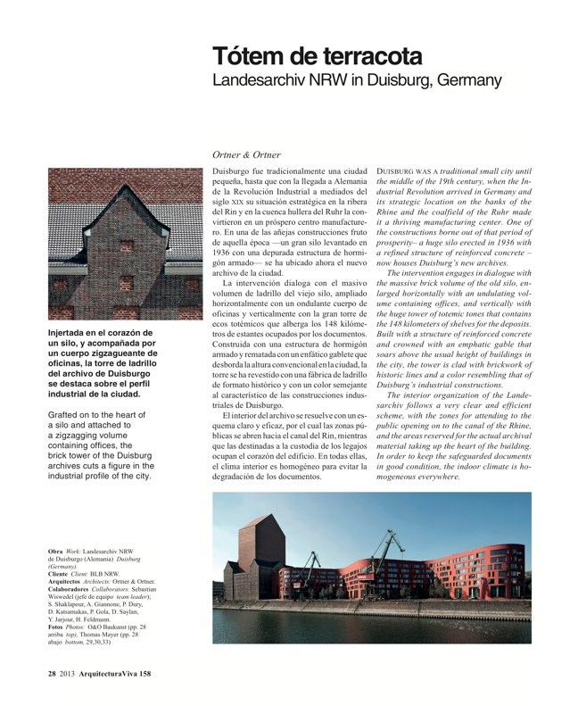 Arquitectura Viva 158 Brick Works - Preview 10