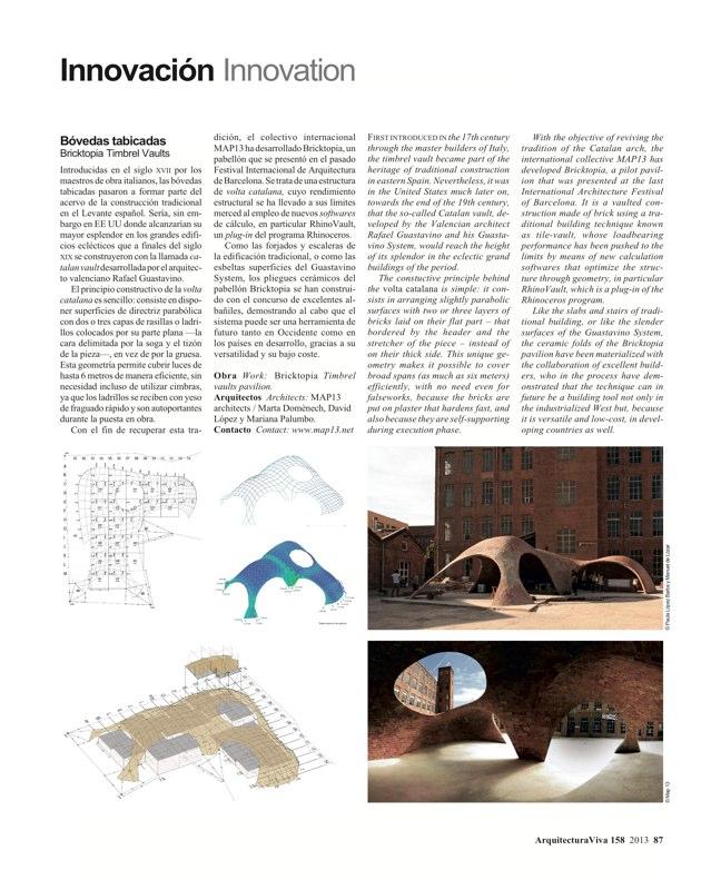 Arquitectura Viva 158 Brick Works - Preview 24