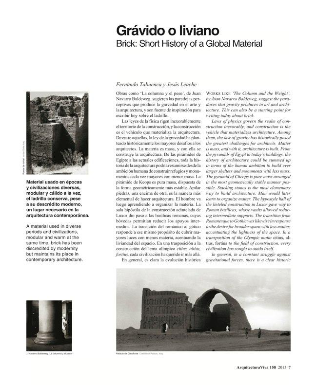 Arquitectura Viva 158 Brick Works - Preview 4