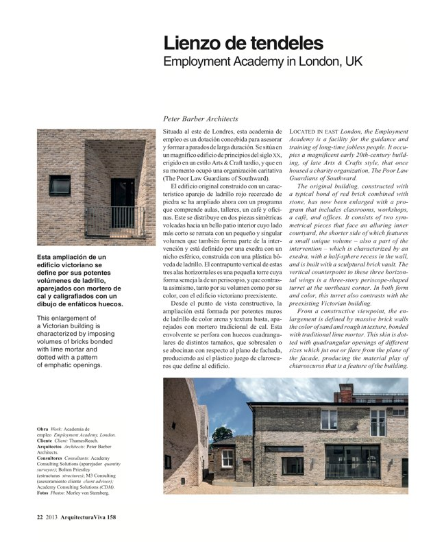 Arquitectura Viva 158 Brick Works - Preview 8