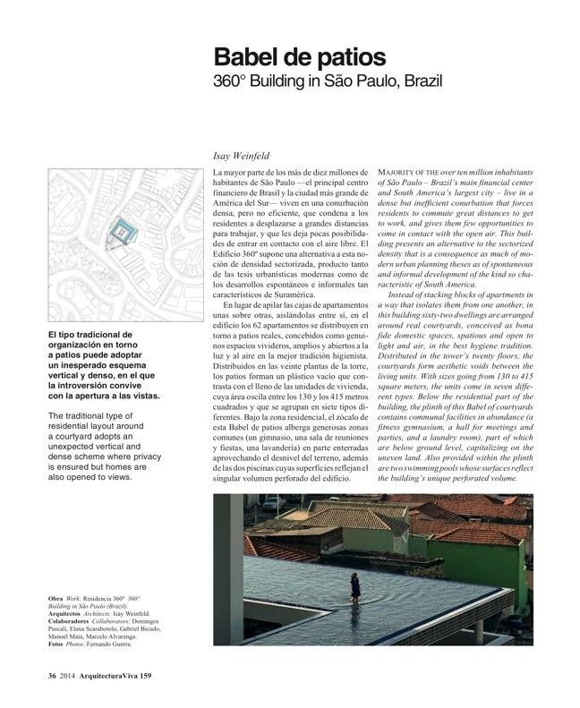 Arquitectura Viva 159 Density Matters - Preview 13