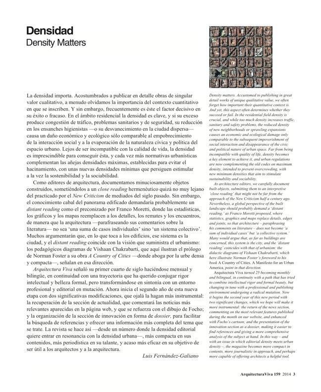 Arquitectura Viva 159 Density Matters - Preview 2