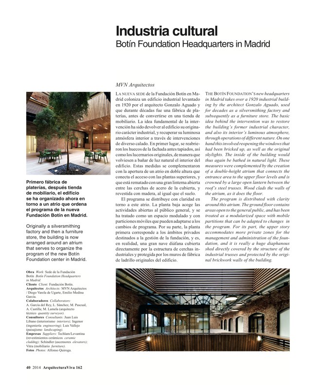 Arquitectura Viva 162 Palimpsests. Extending the Life of Buildings - Preview 12