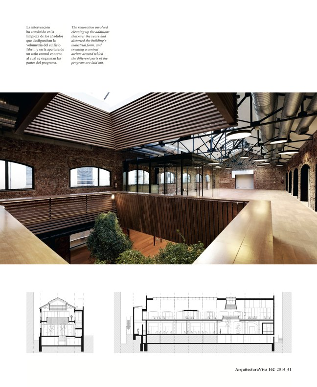 Arquitectura Viva 162 Palimpsests. Extending the Life of Buildings - Preview 13