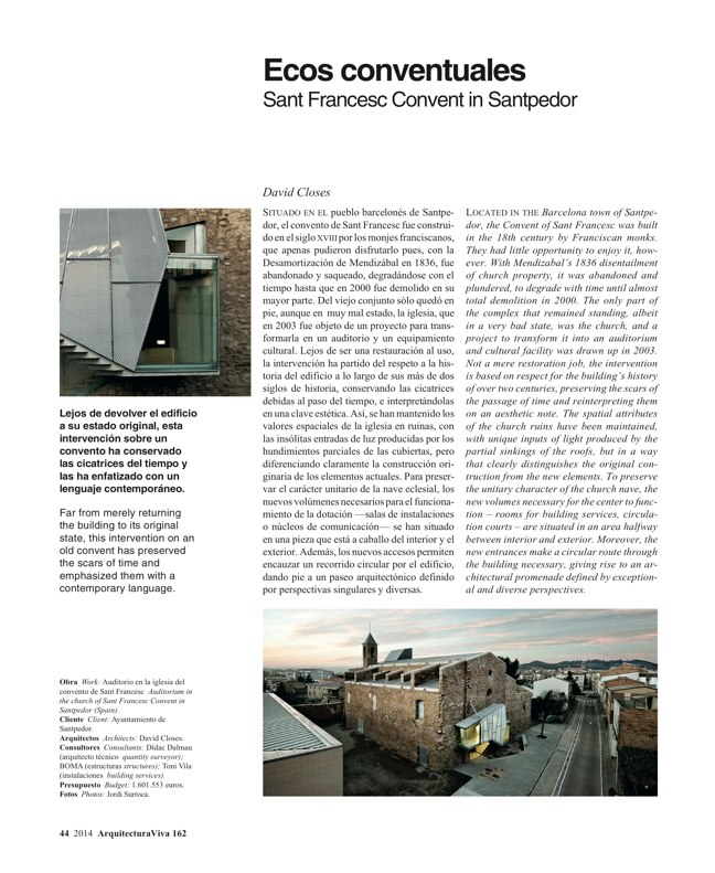 Arquitectura Viva 162 Palimpsests. Extending the Life of Buildings - Preview 14