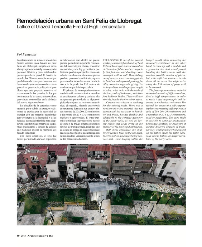 Arquitectura Viva 162 Palimpsests. Extending the Life of Buildings - Preview 26