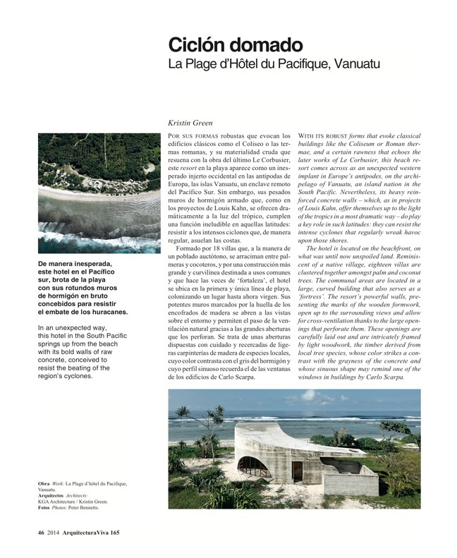Arquitectura Viva 165 GLOBAL TOUR - Preview 19