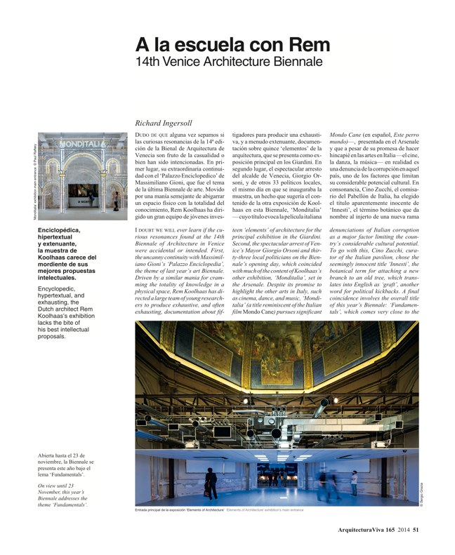 Arquitectura Viva 165 GLOBAL TOUR - Preview 21