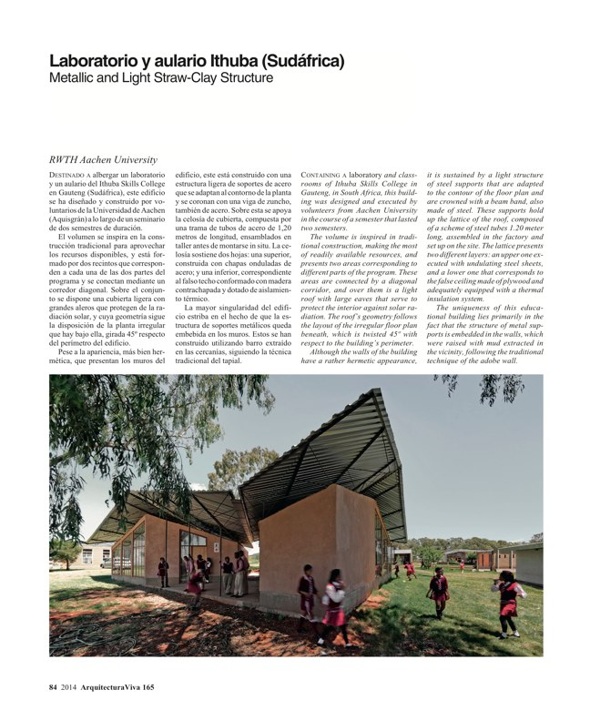 Arquitectura Viva 165 GLOBAL TOUR - Preview 29