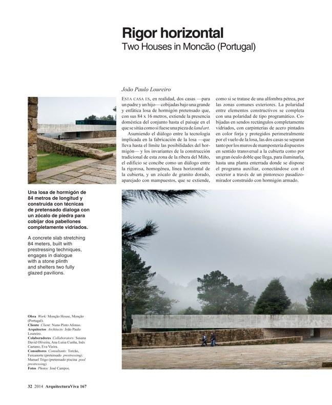 Arquitectura Viva 167 IBERIAN HOUSES · CASAS IBÉRICAS - Preview 11