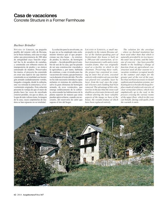 Arquitectura Viva 167 IBERIAN HOUSES · CASAS IBÉRICAS - Preview 21