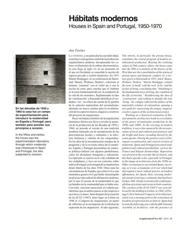 Arquitectura Viva 167 IBERIAN HOUSES · CASAS IBÉRICAS - Preview 4