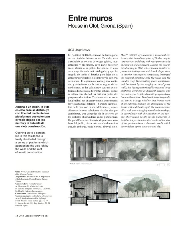 Arquitectura Viva 167 IBERIAN HOUSES · CASAS IBÉRICAS - Preview 5