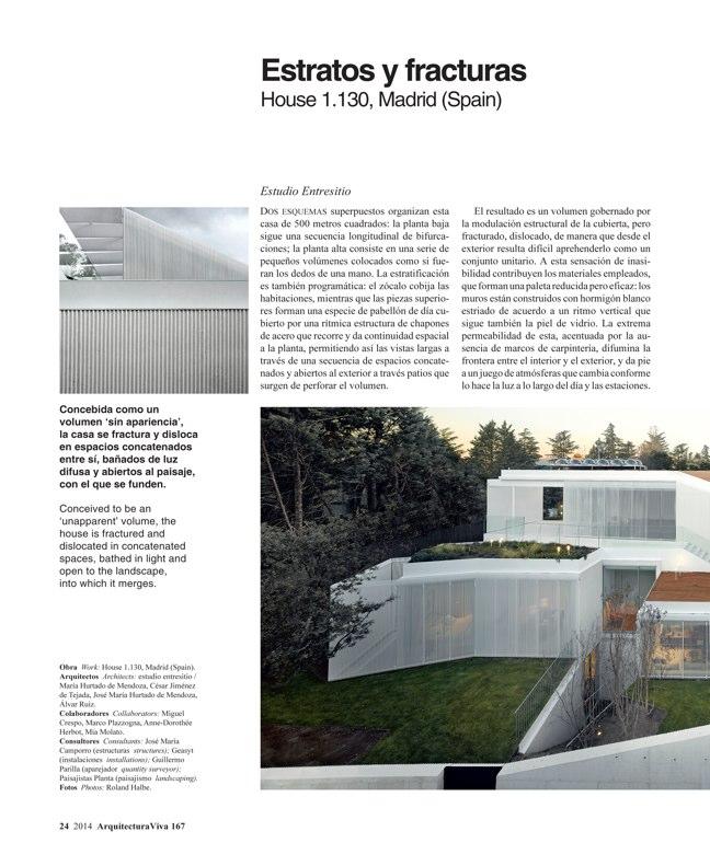 Arquitectura Viva 167 IBERIAN HOUSES · CASAS IBÉRICAS - Preview 7