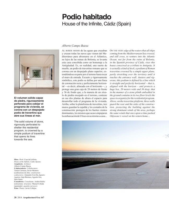 Arquitectura Viva 167 IBERIAN HOUSES · CASAS IBÉRICAS - Preview 9