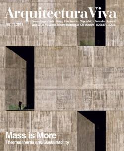 Arquitectura Viva 168 MASS IS MORE. THERMAL INERTIA AND SUSTAINABILITY