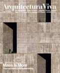 Arquitectura Viva 168 MASS IS MORE. THERMAL INERTIA AND SUSTAINABILITY