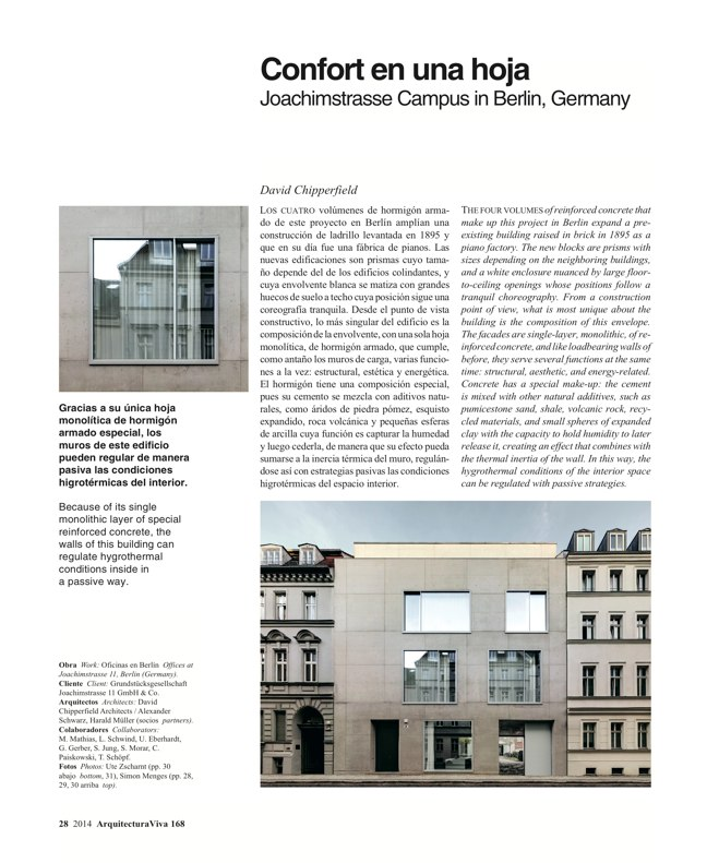 Arquitectura Viva 168 MASS IS MORE. THERMAL INERTIA AND SUSTAINABILITY - Preview 10
