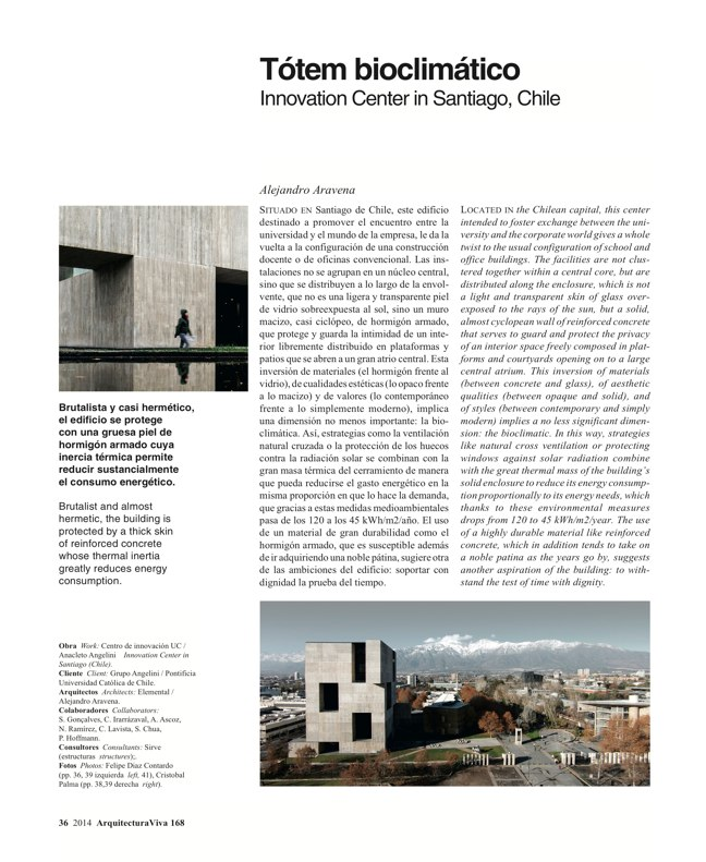 Arquitectura Viva 168 MASS IS MORE. THERMAL INERTIA AND SUSTAINABILITY - Preview 14