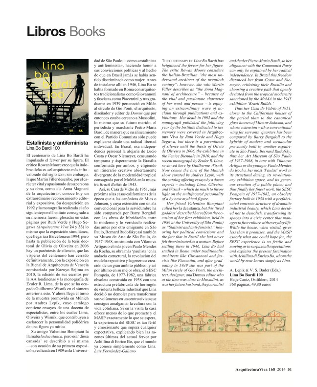 Arquitectura Viva 168 MASS IS MORE. THERMAL INERTIA AND SUSTAINABILITY - Preview 18