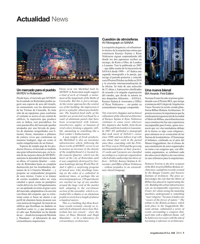 Arquitectura Viva 168 MASS IS MORE. THERMAL INERTIA AND SUSTAINABILITY - Preview 4