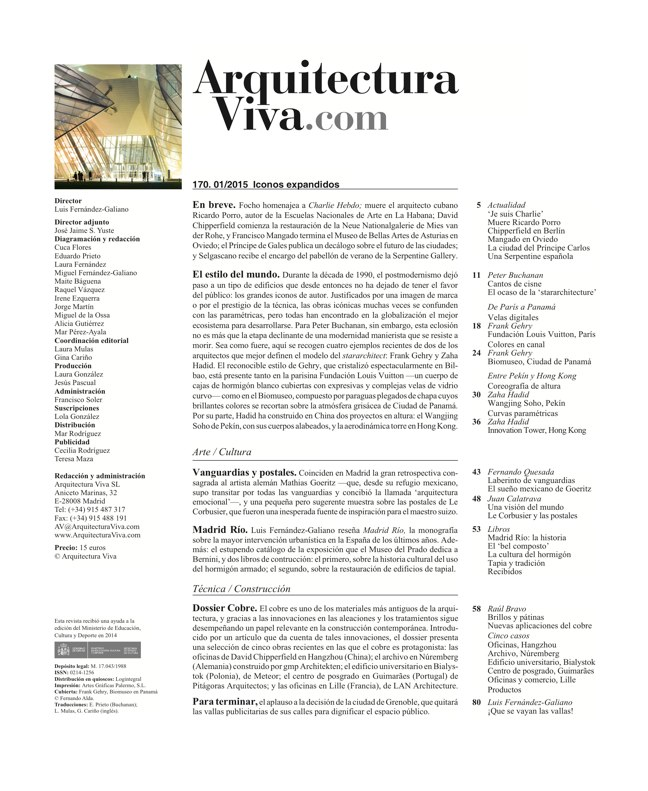 Arquitectura Viva 170 EXPANDED ICONS - Preview 1