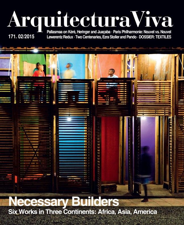 Arquitectura Viva 171 NECESSARY BUILDERS
