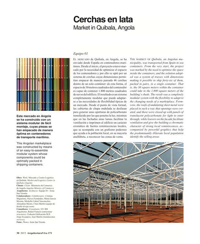 Arquitectura Viva 171 NECESSARY BUILDERS - Preview 11