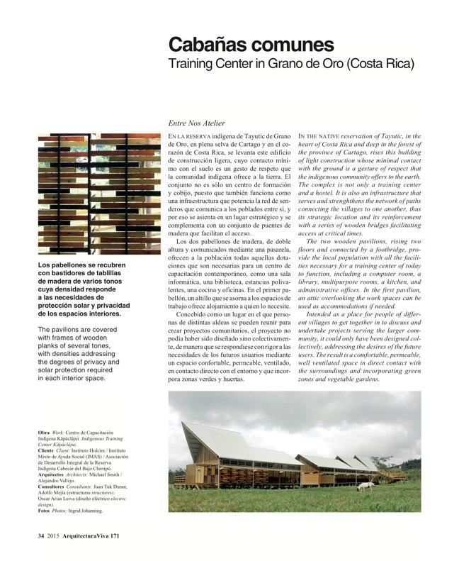Arquitectura Viva 171 NECESSARY BUILDERS - Preview 12
