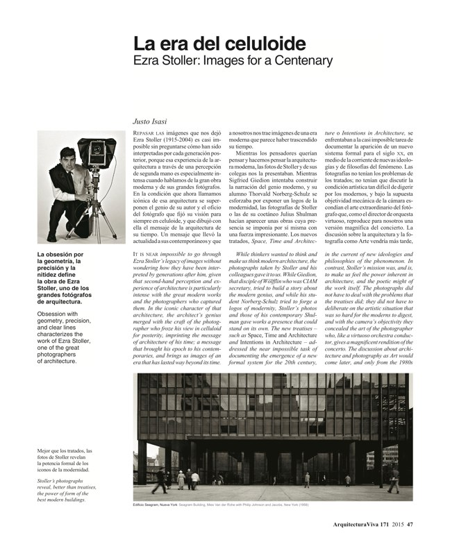 Arquitectura Viva 171 NECESSARY BUILDERS - Preview 15