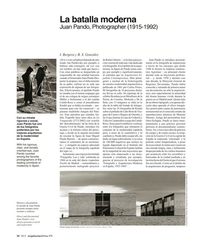 Arquitectura Viva 171 NECESSARY BUILDERS - Preview 16