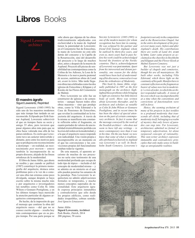 Arquitectura Viva 171 NECESSARY BUILDERS - Preview 17