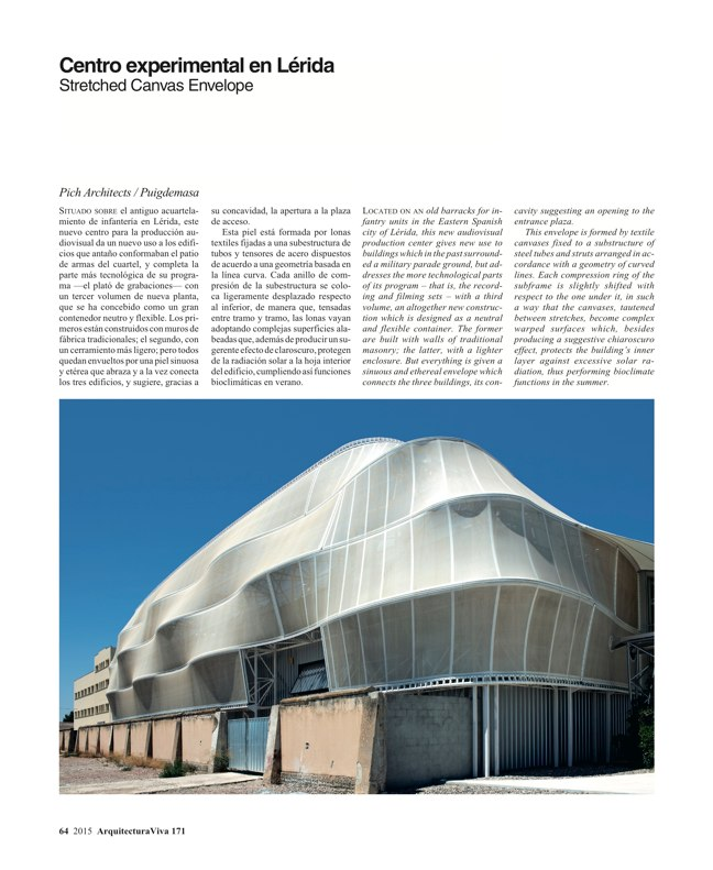 Arquitectura Viva 171 NECESSARY BUILDERS - Preview 20