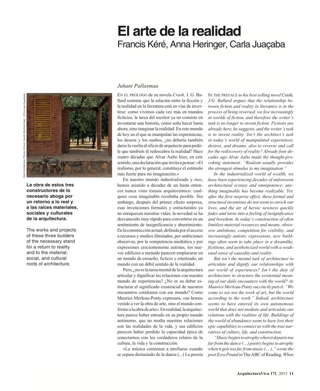 Arquitectura Viva 171 NECESSARY BUILDERS - Preview 4