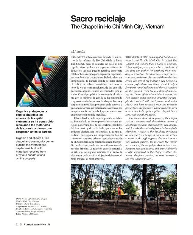 Arquitectura Viva 171 NECESSARY BUILDERS - Preview 7