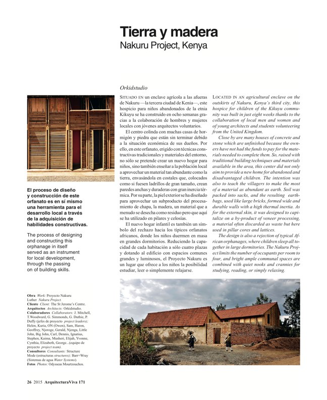 Arquitectura Viva 171 NECESSARY BUILDERS - Preview 9