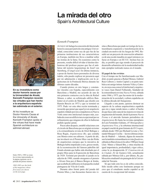 Arquitectura Viva 173 SPAIN ABROAD - Preview 11