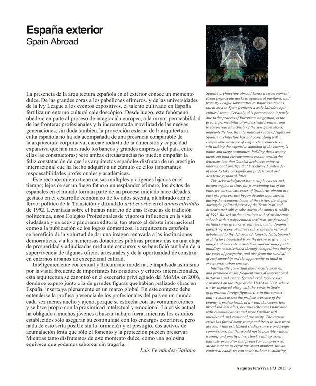 Arquitectura Viva 173 SPAIN ABROAD - Preview 3