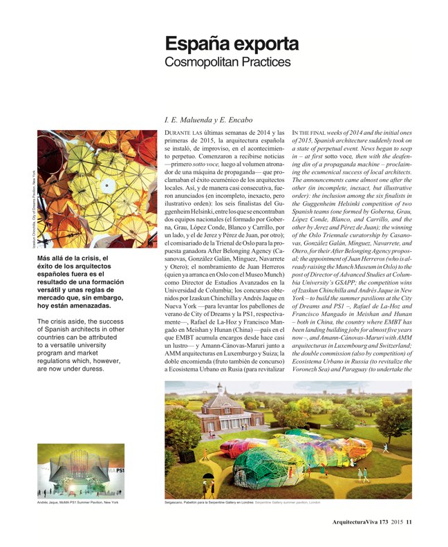 Arquitectura Viva 173 SPAIN ABROAD - Preview 4