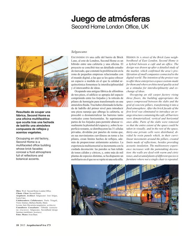 Arquitectura Viva 173 SPAIN ABROAD - Preview 5