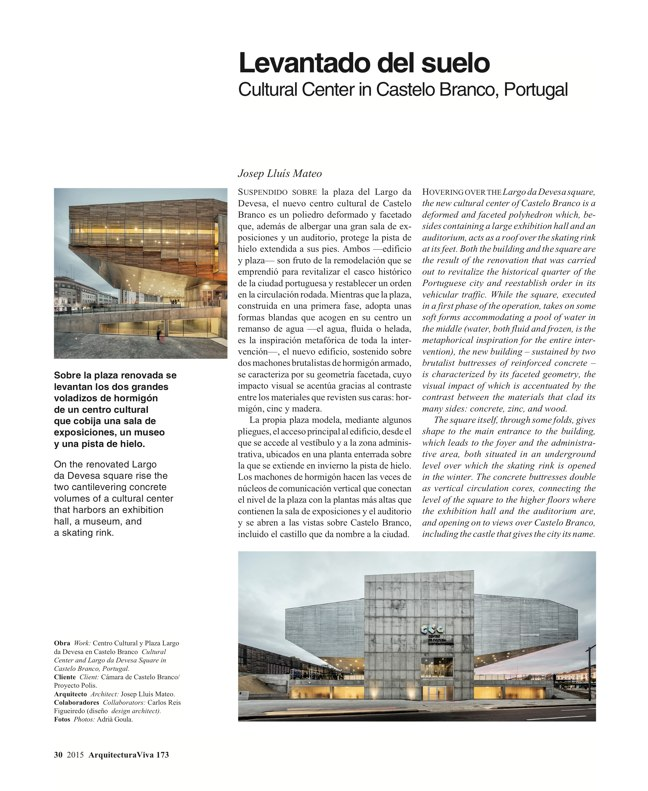 Arquitectura Viva 173 SPAIN ABROAD - Preview 8
