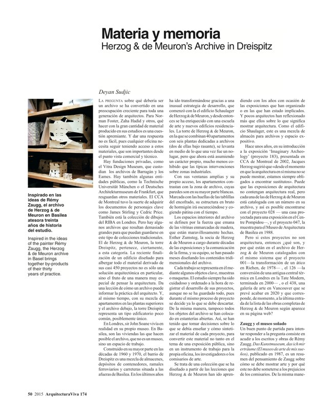 Arquitectura Viva 174 WOVEN WORKS - Preview 11