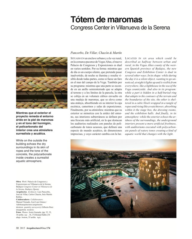 Arquitectura Viva 174 WOVEN WORKS - Preview 7