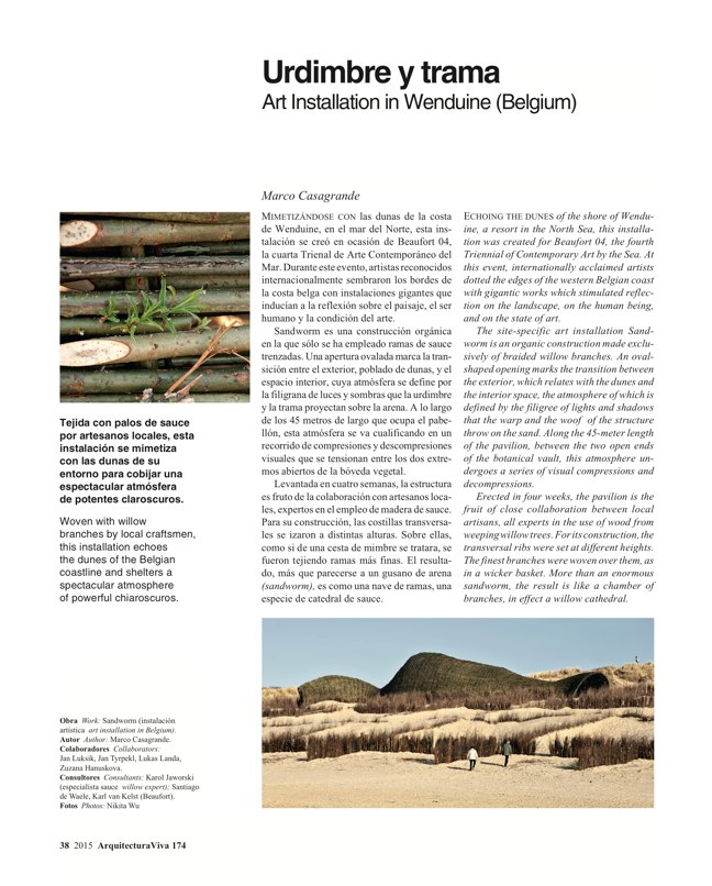 Arquitectura Viva 174 WOVEN WORKS - Preview 8