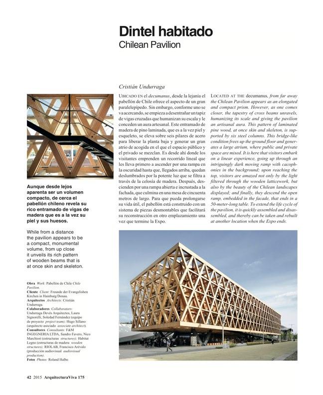 Arquitectura Viva 175 EXPO MILANO 2015 - Preview 12